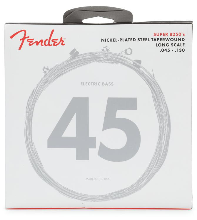 Fender 82505M Nickel Plated Steel Taperwound Medium 5-String Bass Strings image 1