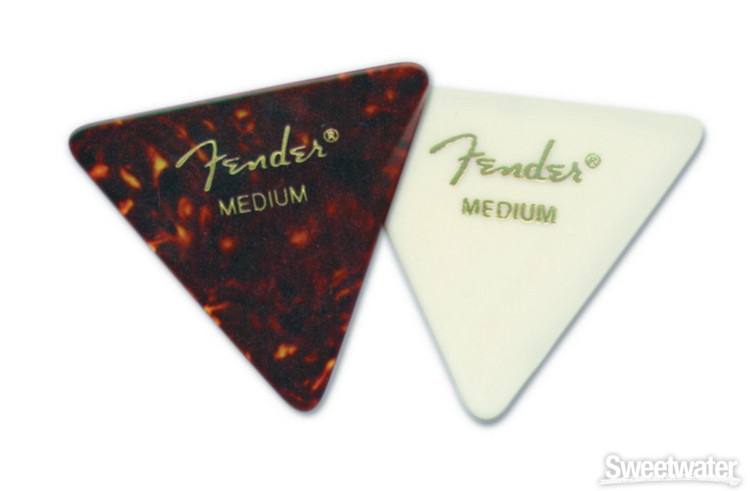 Fender Accessories 355 Shape Triangle Pick 72-Pack - Heavy image 1