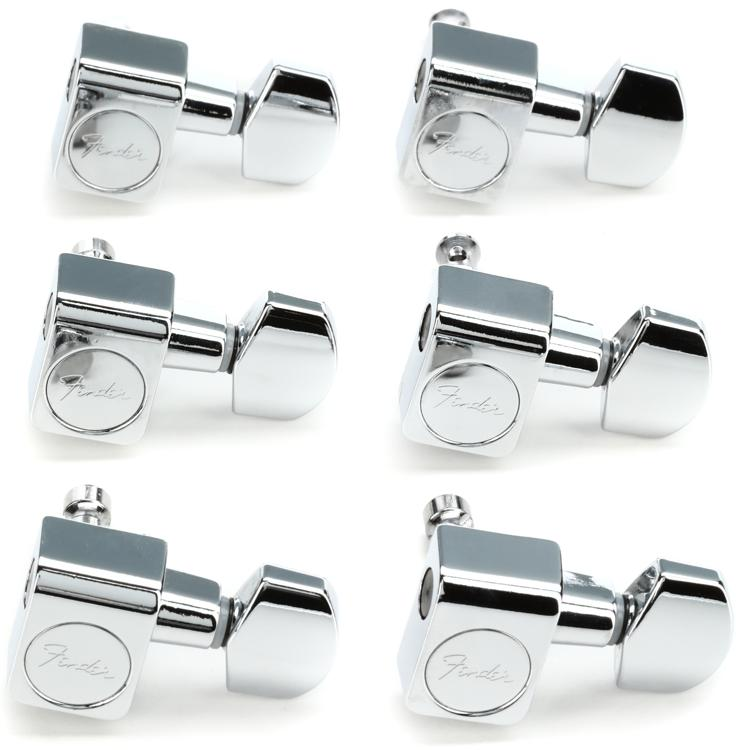 Fender Accessories American Standard Series Tuning Machine Heads - Chrome image 1