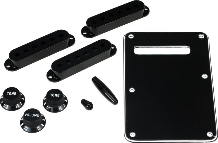 Fender Accessories Stratocaster Accessory Kit - Black image 1
