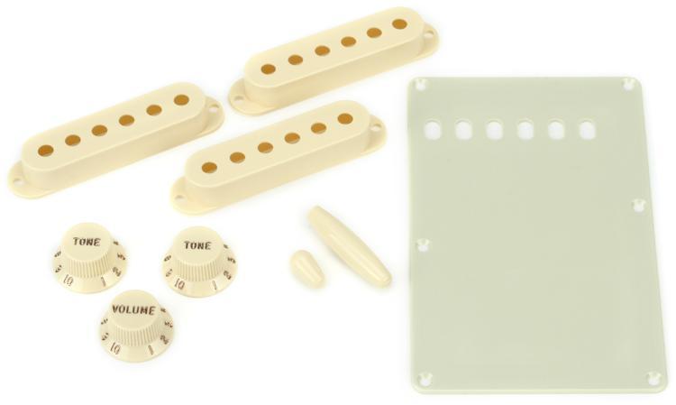 Fender Stratocaster Accessory Kit - Aged White image 1