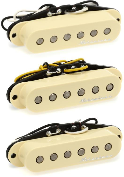 Fender Hot Noiseless Strat Pickup Set image 1