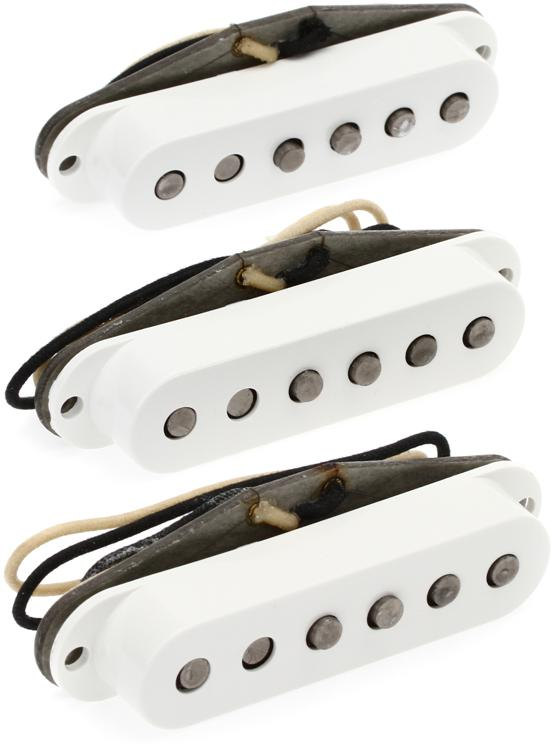 Fender Accessories Custom \'69 Stratocaster Pickup - Full 3-Piece Set image 1