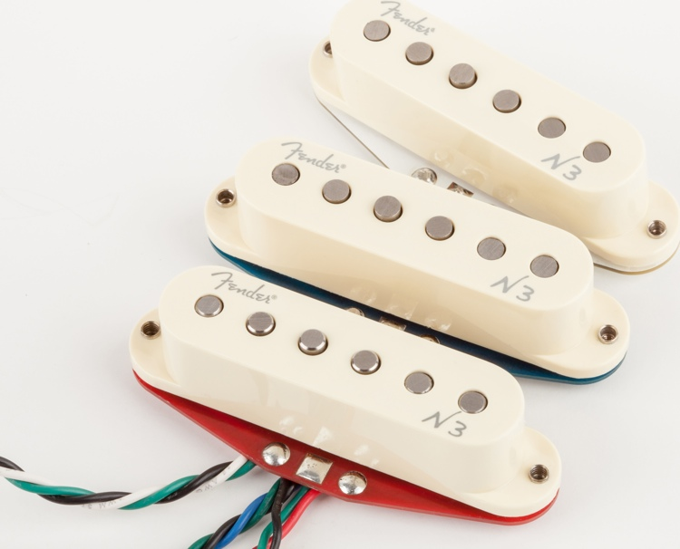 Fender N3 Noiseless Pickup - Strat - 3-piece Set image 1