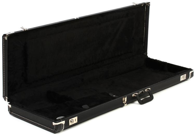 Fender Standard Precision Bass Case - Black Tolex image 1