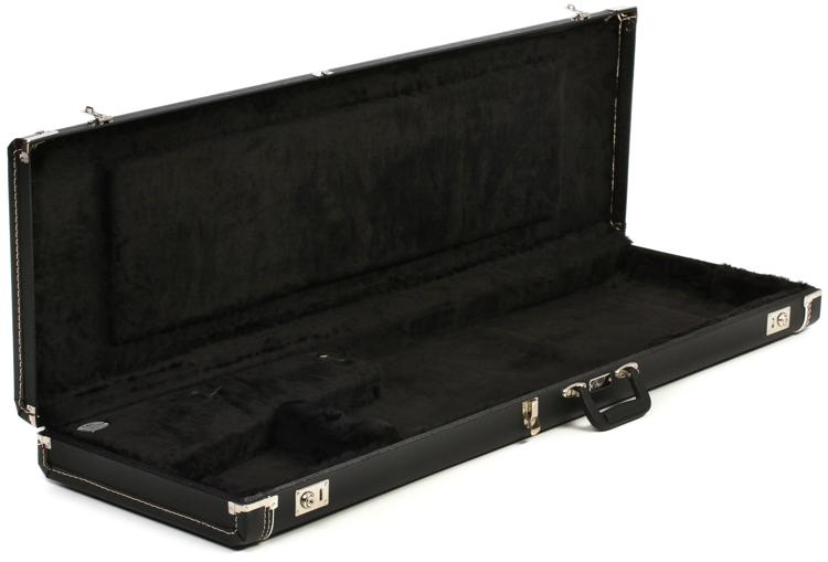 Fender Left-handed P/J Tolex Bass Case - Black image 1