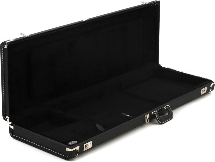 Fender Accessories Standard Jazz Bass Case - Black Tolex image 1