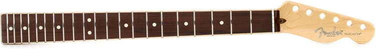 Fender American Channel-bound Telecaster Neck - Rosewood Fretboard image 1