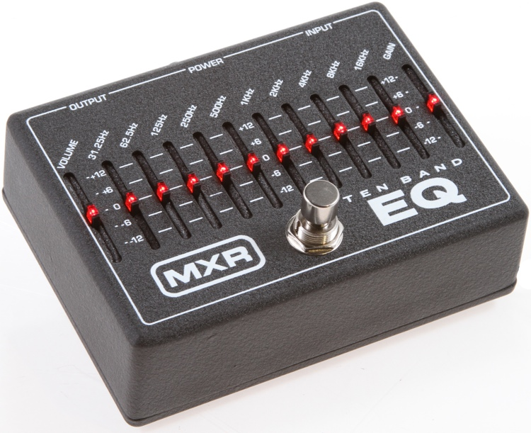MXR M108 10 Band Graphic EQ image 1