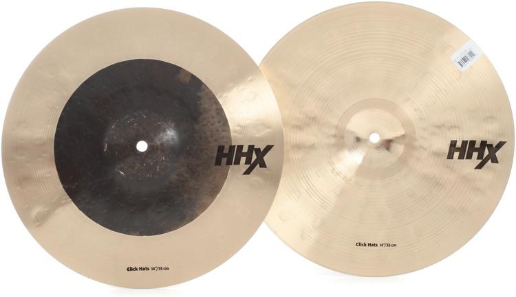 Sabian HHX Click Hi-hats - 14
