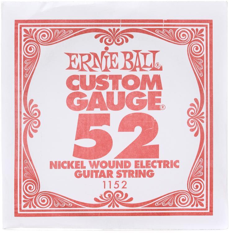Ernie Ball 1152 .052W Single Wound String image 1