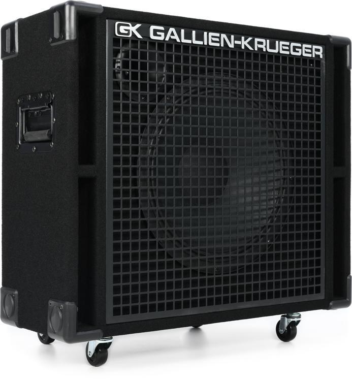 gallien krueger 115rbh 1x15 400 watt bass cabinet 8 ohm sweetwater. Black Bedroom Furniture Sets. Home Design Ideas