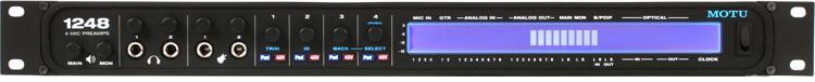 MOTU 1248 32x34 Thunderbolt / USB 2.0 Audio Interface with AVB image 1