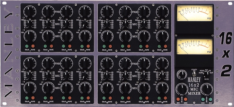 Manley 16x2 Mic Only Version Mixer image 1