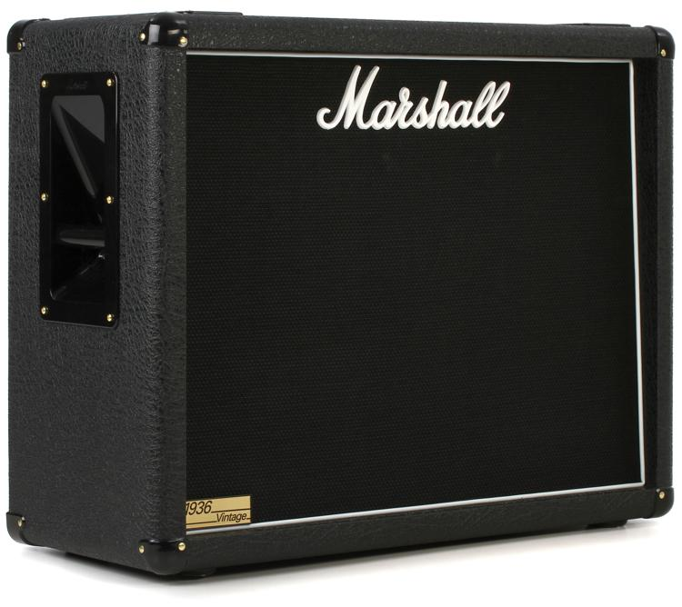 marshall 1936v 140 watt 2x12 extension cabinet with v30s sweetwater. Black Bedroom Furniture Sets. Home Design Ideas