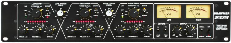 Drawmer 1973 - 3-band FET Stereo Compressor image 1