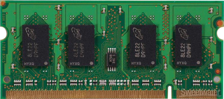 Top Tier PC2-5300 SO DIMM - 1 GB image 1