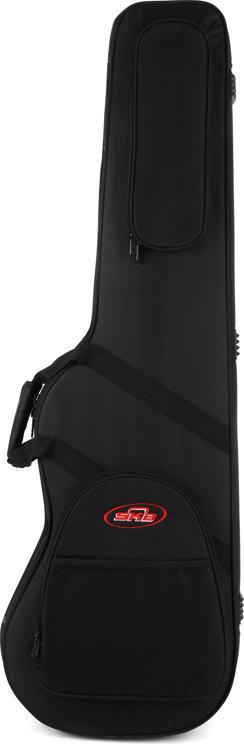 SKB SCFB4, Universal Shaped Electric Bass Soft Case - Black image 1