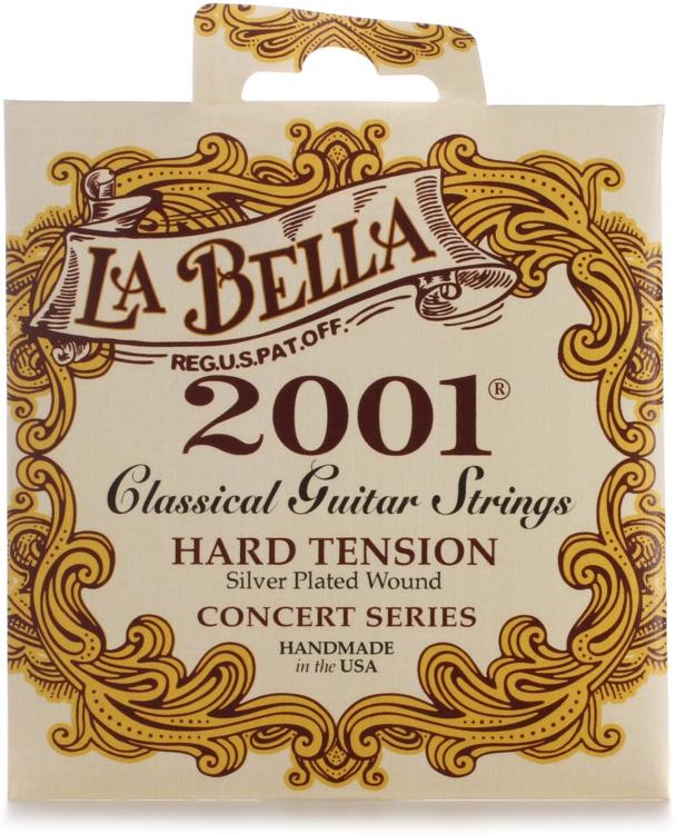 la bella 2001 classical guitar strings hard tension sweetwater. Black Bedroom Furniture Sets. Home Design Ideas