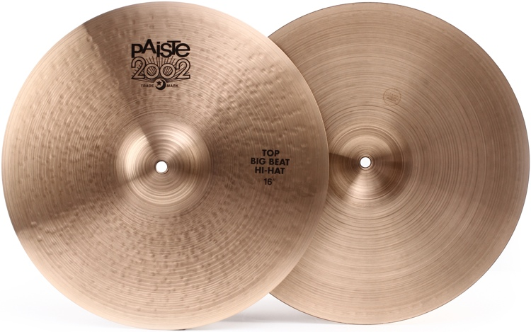 Paiste 2002 Big Beat Series Hi-hats - 16
