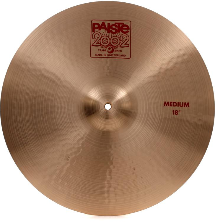 Paiste 2002 Medium Crash - 18