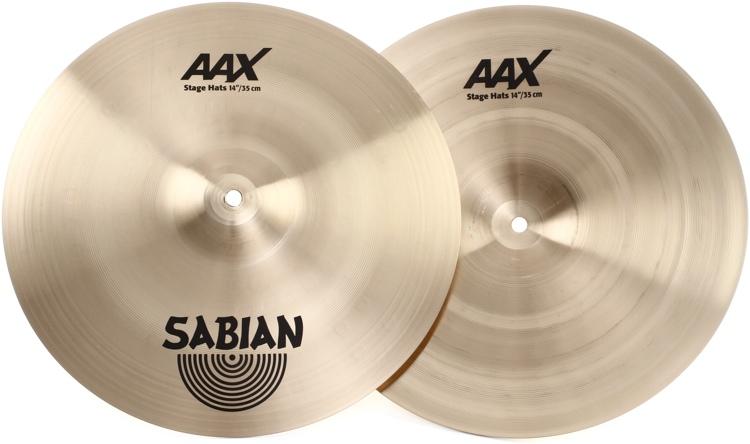 Sabian AAX Stage Hi-hats - 14