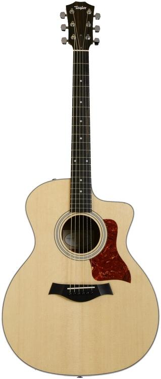 Taylor 214ce Koa-LTD Grand Auditorium - Cutaway, Electronics, All-Gloss image 1