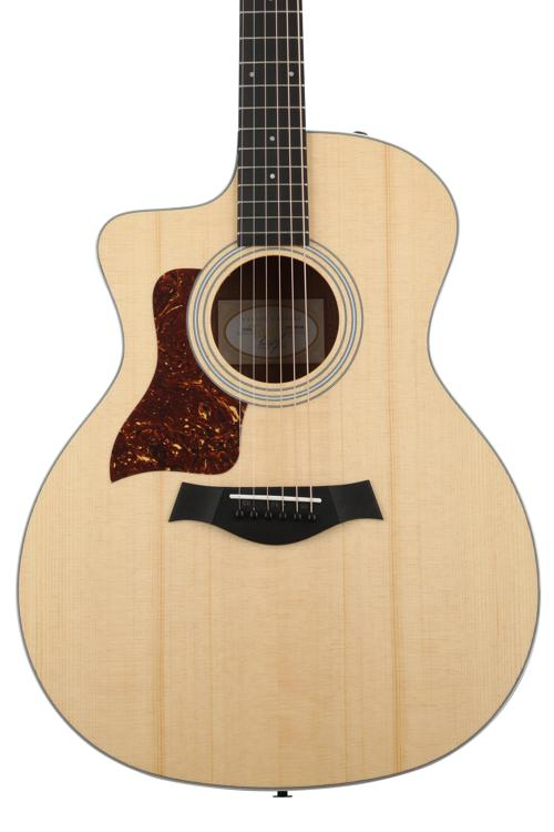 Taylor 214ce Left-handed - Layered Koa back and sides image 1