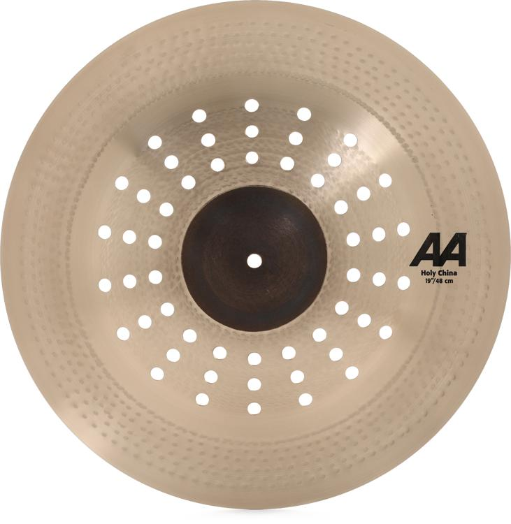 sabian 19 aa holy china cymbal sweetwater. Black Bedroom Furniture Sets. Home Design Ideas