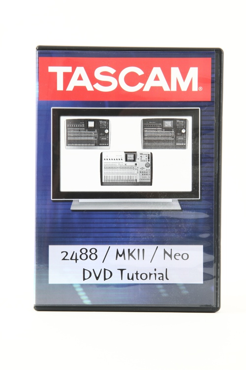 TASCAM 2488mkII Tutorial DVD image 1