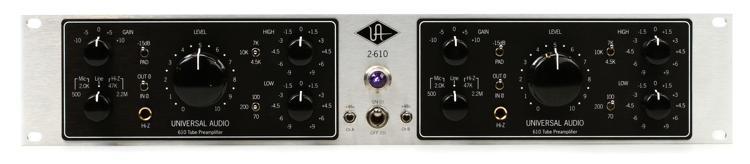Universal Audio 2-610S Silverface image 1