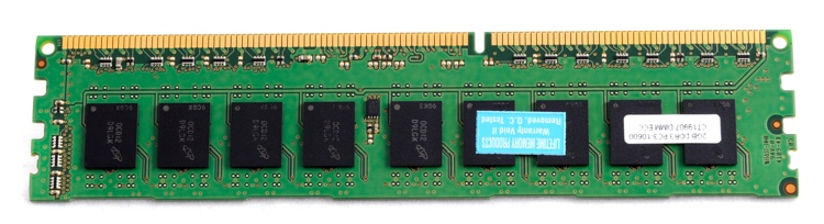 Top Tier PC3-10600 ECC DIMM - 2 GB ECC (for Mac Pros) image 1