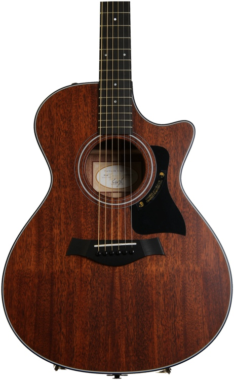 Taylor 322ce Mahogany Top Grand Concert Acoustic Electric - with Cutaway image 1