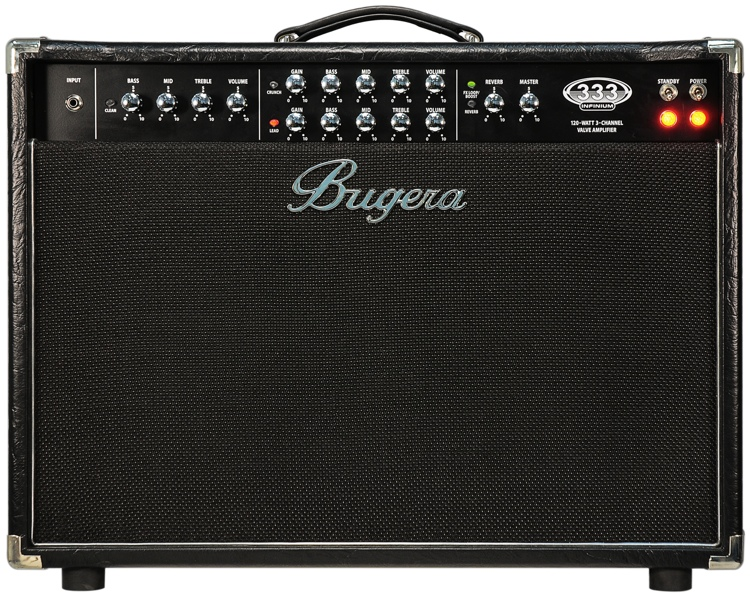 bugera 333 212 infinium 120w 2x12 guitar combo amp sweetwater. Black Bedroom Furniture Sets. Home Design Ideas