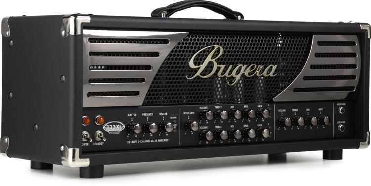 Bugera 333XL Infinium 120-watt 3-channel Tube Head image 1
