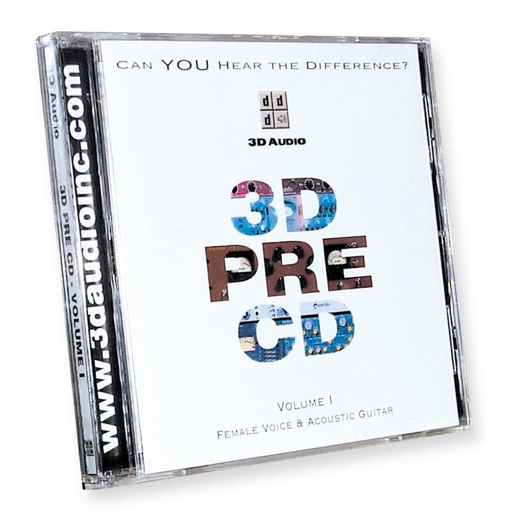 3D Audio 3D Pre CD Vol 1 image 1