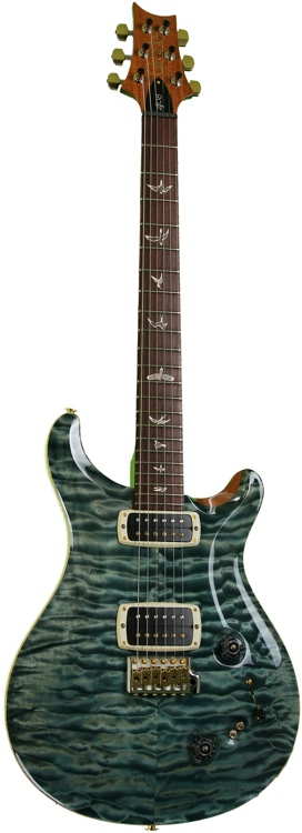 PRS 408 Quilted Maple Top 10-Top w/Rosewood Fretboard - Blue Crab Blue image 1