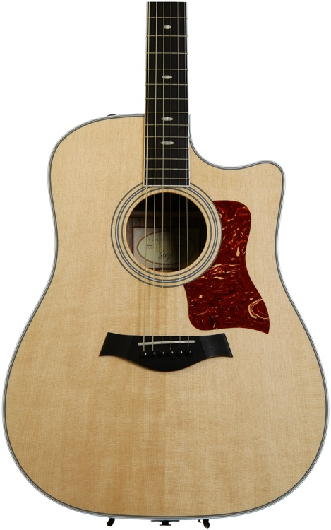 Taylor 410ce Dreadnought - Acoustic Electric Natural with Cutaway image 1
