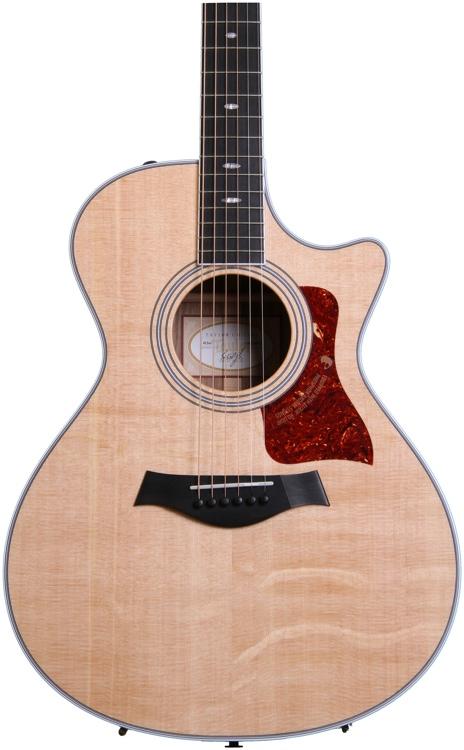 Taylor 412CE Grand Concert - Cutaway, Electronics, Natural image 1