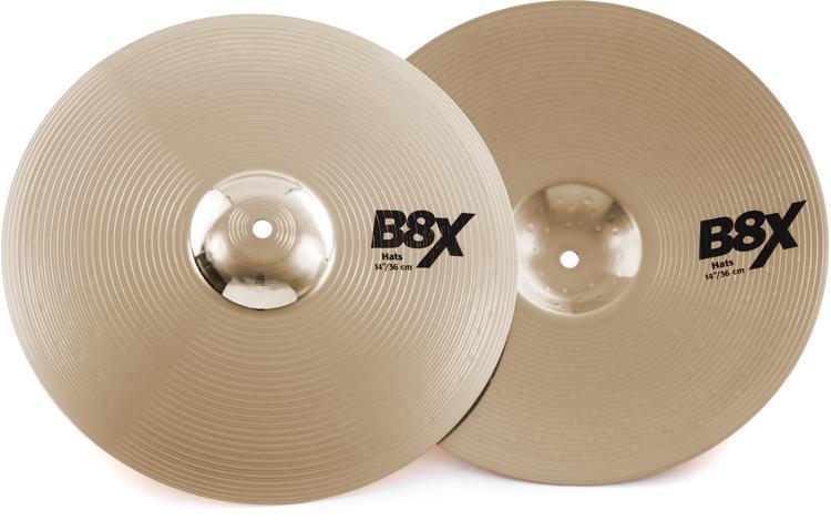Sabian B8X Series Hi-hats - 14
