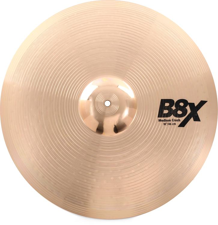 Sabian B8X Medium Crash - 18