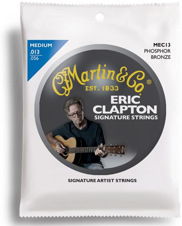 Martin MEC13 Clapton\'s Choice Phosphor Bronze Medium Acoustic Strings image 1