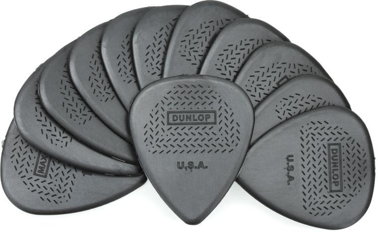 Dunlop 449P1.14 Nylon Max-Grip Standard 1.14mm Guitar Picks 12-Pack image 1