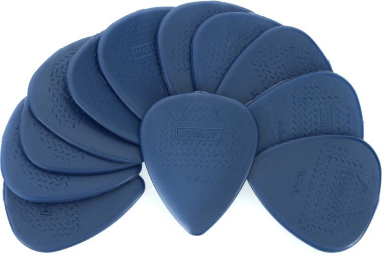Dunlop 449P1.5 Nylon Max-Grip Standard 1.5mm Guitar Picks 12-Pack image 1