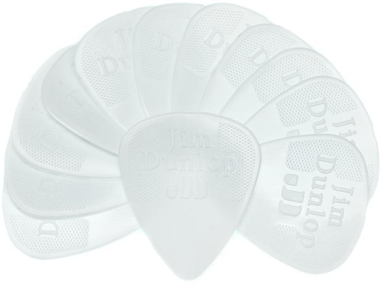 Dunlop 44P.38 Nylon Standard .38mm White Guitar Picks 12-Pack image 1