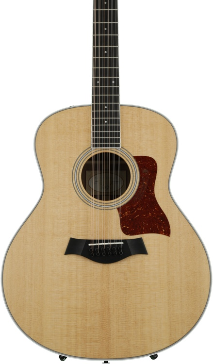 Taylor 458e Grand Orchestra 12-String Acoustic-Electric - Natural image 1