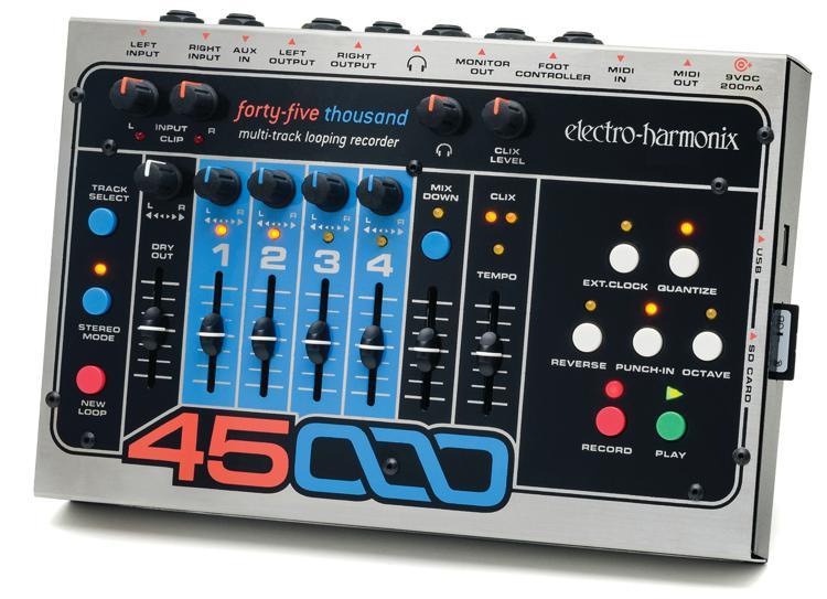 Electro-Harmonix 45000 4-Track Looper Pedal image 1