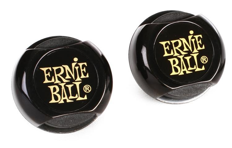 Ernie Ball PO4601 Super Locks Set - Black image 1