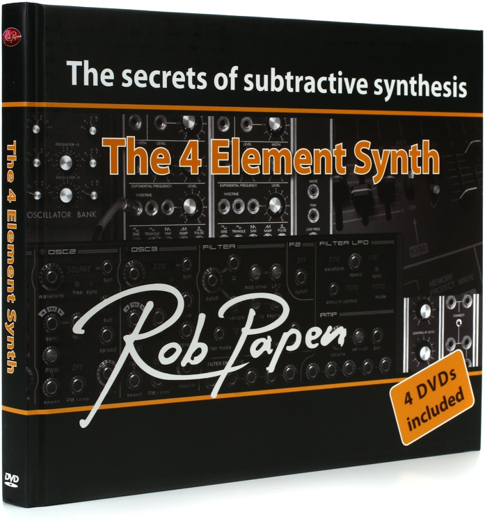 Rob Papen The Four Element Synth image 1