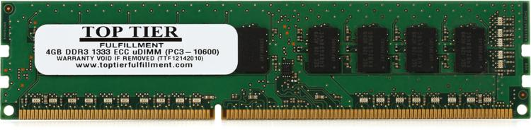 Top Tier PC3-10600 ECC DIMM - 4 GB ECC (for Mac Pros) image 1